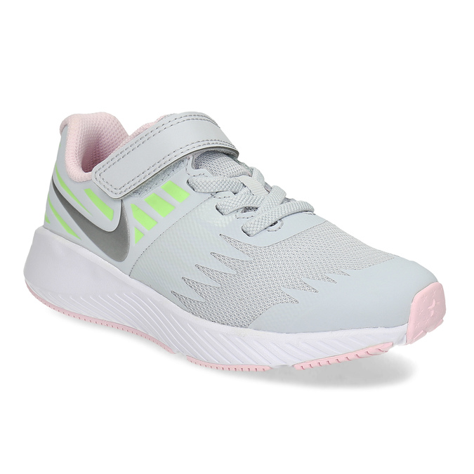 Šedo-růžové sportovní tenisky nike, šedá, 309-1211 - 13