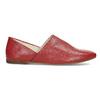 Dámské červené kožené Loafers vagabond, červená, 524-5079 - 19