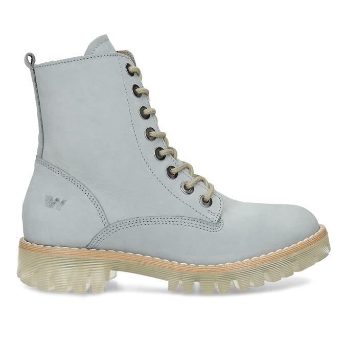 Modré kotníkové boty dámské weinbrenner, modrá, 596-9601 - 19