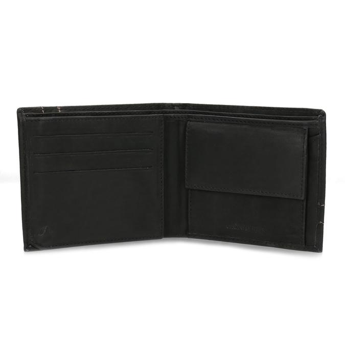 Pánská kožená peněženka bata, hnědá, 944-6147 - 15