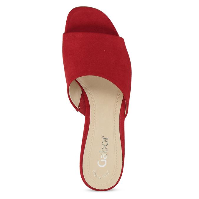 Nazouváky dámské červené gabor, červená, 661-5607 - 17