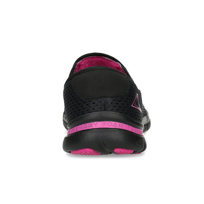 Sportovní dámské Slip-on power, černá, 509-6418 - 15