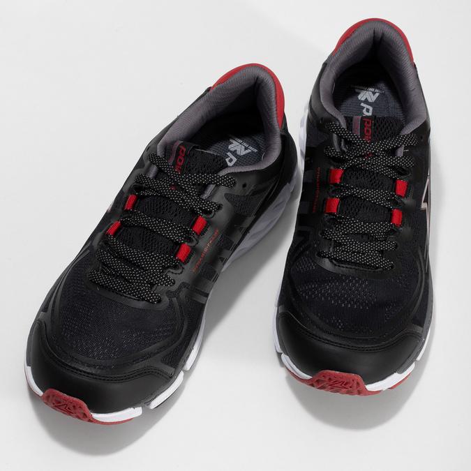 Černé pánské sportovní tenisky power, černá, 809-6415 - 16