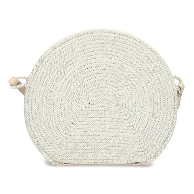 Bílá pletená Crossbody kabelka bata, bílá, 969-1786 - 26