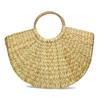 Proutěná dámská plážová kabelka bata, béžová, 969-8784 - 26