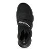 Dámské černé kotníčkové tenisky z úpletu power, černá, 509-6237 - 17