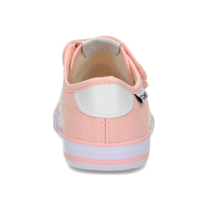 Dětské růžové tenisky se suchými zipy tomy-takkies, růžová, 389-5421 - 15