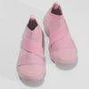 Kotníčkové růžové dámské tenisky z úpletu power, růžová, 509-5237 - 16