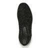 Černá kotníčková dámská obuv s kamínky bata-light, černá, 599-6628 - 17