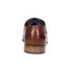Pánské hnědé kožené polobotky s prošitím bugatti, hnědá, 824-4930 - 15