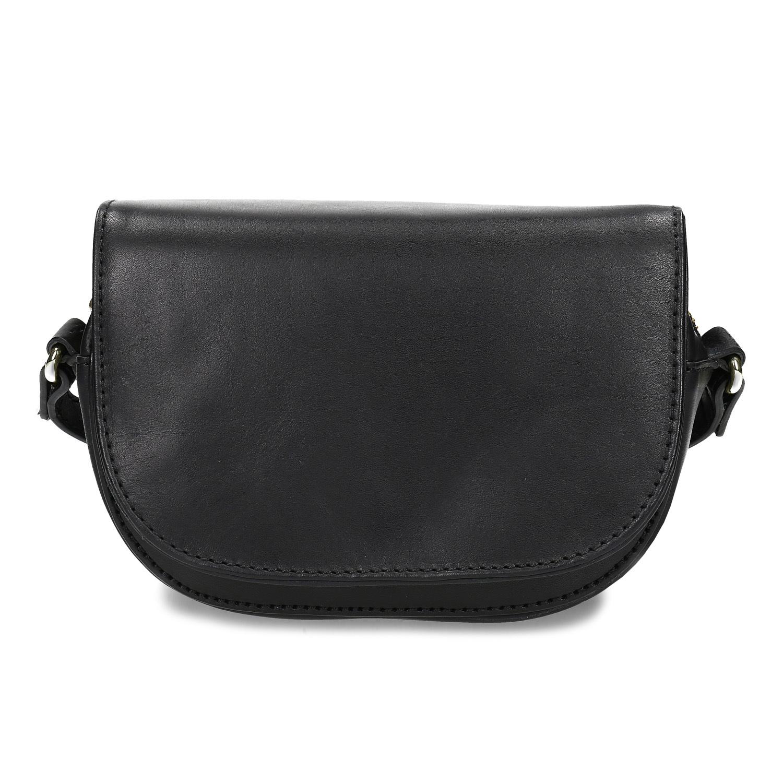 908b081ab6 Baťa Kožená dámská černá Crossbody kabelka - Kožené kabelky