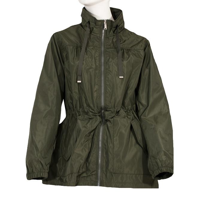 Dámská khaki parka bata, zelená, 979-7277 - 13