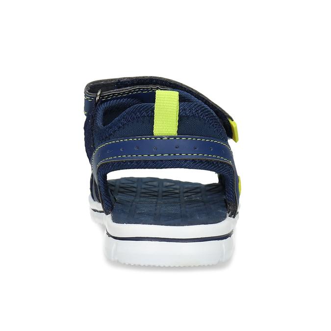Modré sandály chlapecké mini-b, modrá, 361-9620 - 15