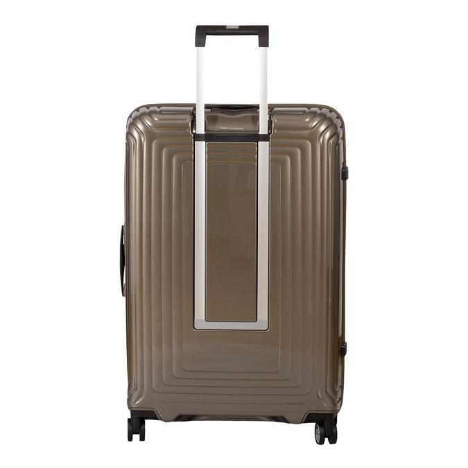 Cestovní zlatý skořepinový kufr samsonite, zlatá, 960-8023 - 26