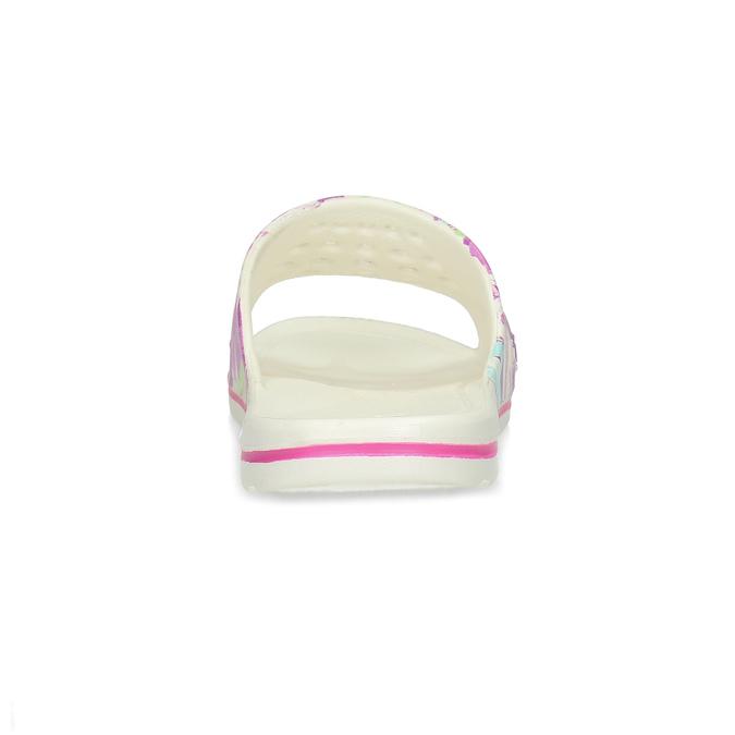 Bílé nazouváky dětské coqui, růžová, 372-5665 - 15