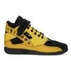 Žluté tenisky s černými detaily a průstřihy bata, žlutá, 544-8114 - 19