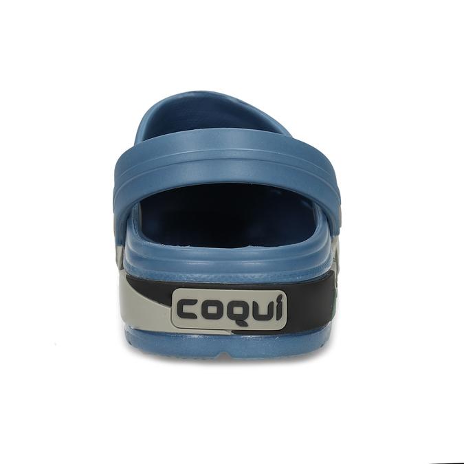 Modré pánské sandály typu Clogs coqui, modrá, 872-9618 - 15