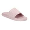Růžové dámské nazouváky s perforací pata-pata, růžová, 579-5689 - 13