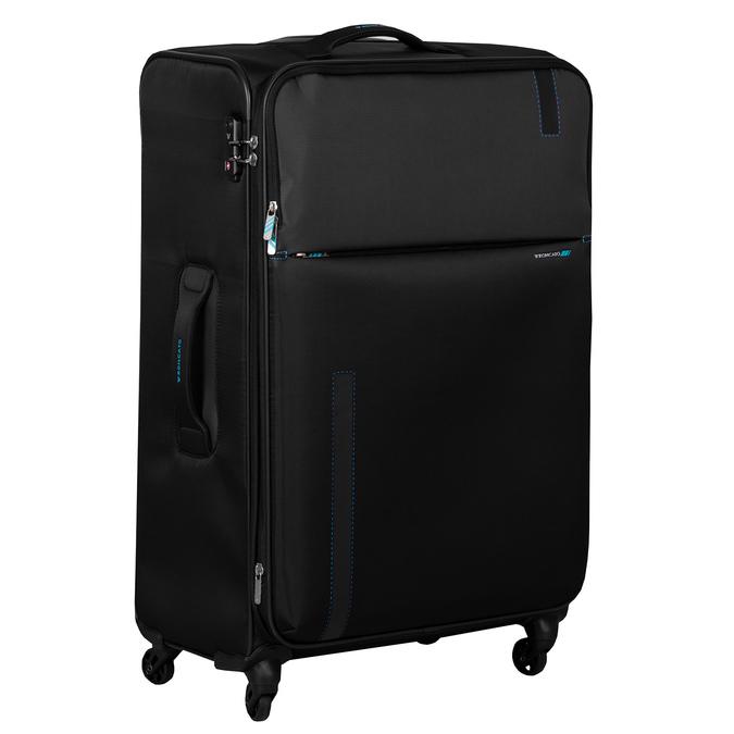 Černý cestovní kufr na kolečkách roncato, černá, 969-6739 - 13