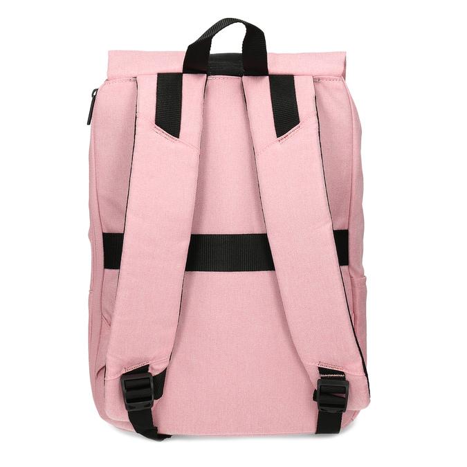 Dámský růžový batoh s černými detaily american-tourister, růžová, 969-5743 - 16