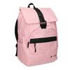 Dámský růžový batoh s černými detaily american-tourister, růžová, 969-5743 - 13