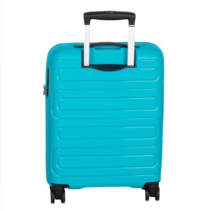 Modrý cestovní kufr na kolečkách american-tourister, modrá, 960-9624 - 26