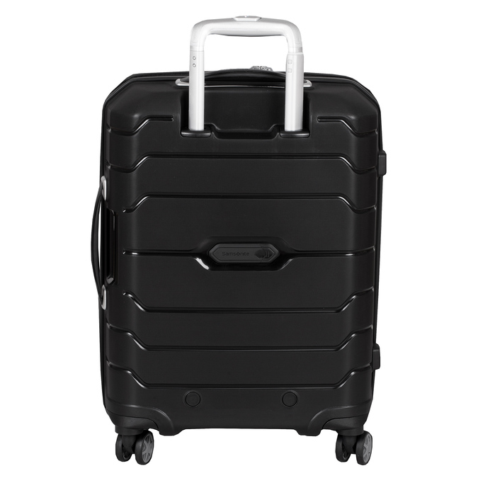 Černý cestovní kufr na kolečkách samsonite, černá, 960-6619 - 26