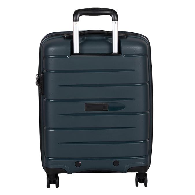 Tmavě modrý kufr na kolečkách roncato, modrá, 960-9616 - 26