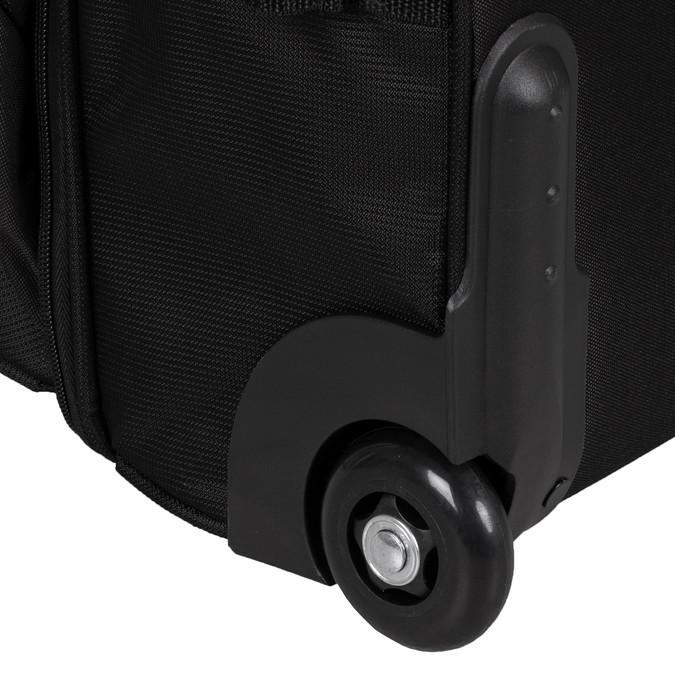 Černá cestovní taška na kolečkách american-tourister, černá, 969-6742 - 15