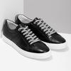 Černé kožené pánské tenisky bata, černá, 844-6649 - 26