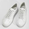 Bílé kožené pánské tenisky bata, bílá, 844-1649 - 16