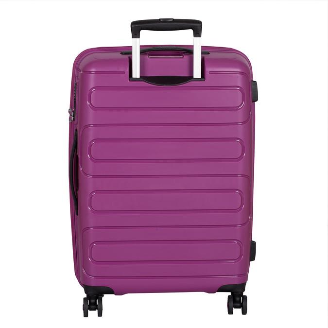 Střední růžový kufr na kolečkách american-tourister, fialová, 960-5625 - 26