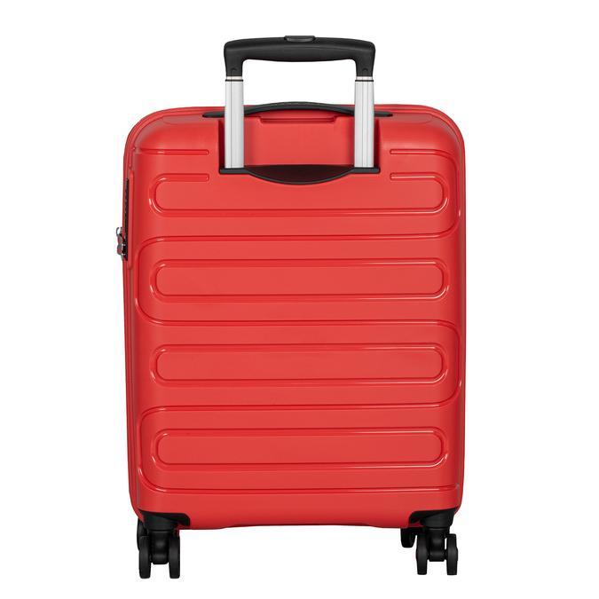 Červený cestovní kufr na kolečkách american-tourister, červená, 960-8624 - 26