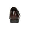 Pánské kožené Monk Shoes polobotky conhpol, hnědá, 826-4626 - 15