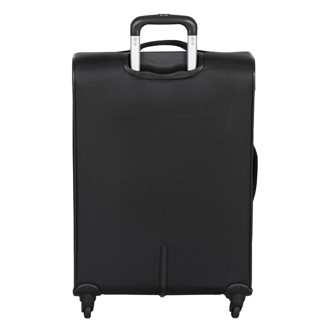 Textilní černý kufr na kolečkách roncato, černá, 969-6738 - 26