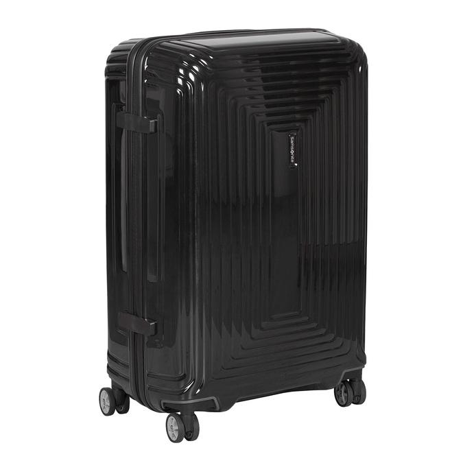 Velký černý kufr na kolečkách samsonite, černá, 960-6034 - 13