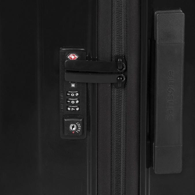 Velký černý kufr na kolečkách samsonite, černá, 960-6034 - 15