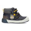 Modrá dětská kotníčková obuv bubblegummers, modrá, 111-9709 - 19