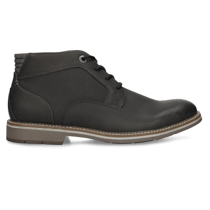 Hnědá pánská kotníčková obuv bata-red-label, hnědá, 821-6668 - 19