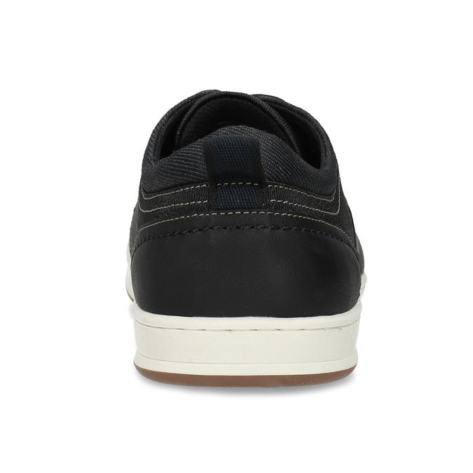 Černé pánské ležérní tenisky bata-red-label, modrá, 841-6779 - 15