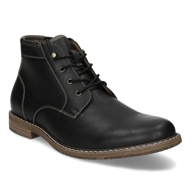 Pánská ležérní kotníčková obuv bata-red-label, černá, 821-6670 - 13
