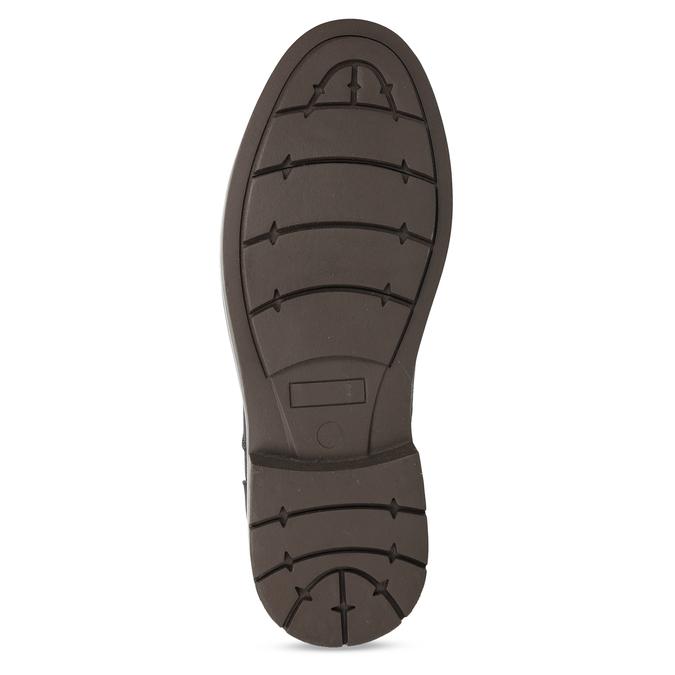 Hnědá pánská kotníčková obuv bata-red-label, hnědá, 821-6668 - 18