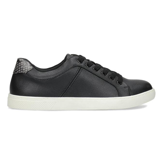 Černé dámské ležérní tenisky bata-red-label, černá, 541-6609 - 19