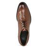 Hnědé pánské kožené Ombré polobotky bata, hnědá, 826-3618 - 17