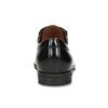 Černé pánské kožené Derby polobotky conhpol, černá, 824-6507 - 15