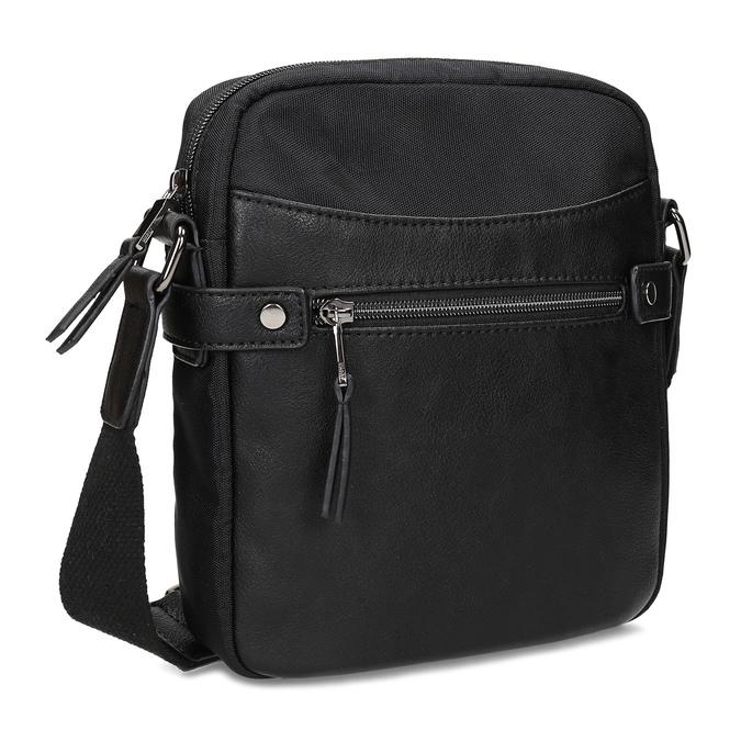 Pánská černá Crossbody taška bata, černá, 969-6793 - 13