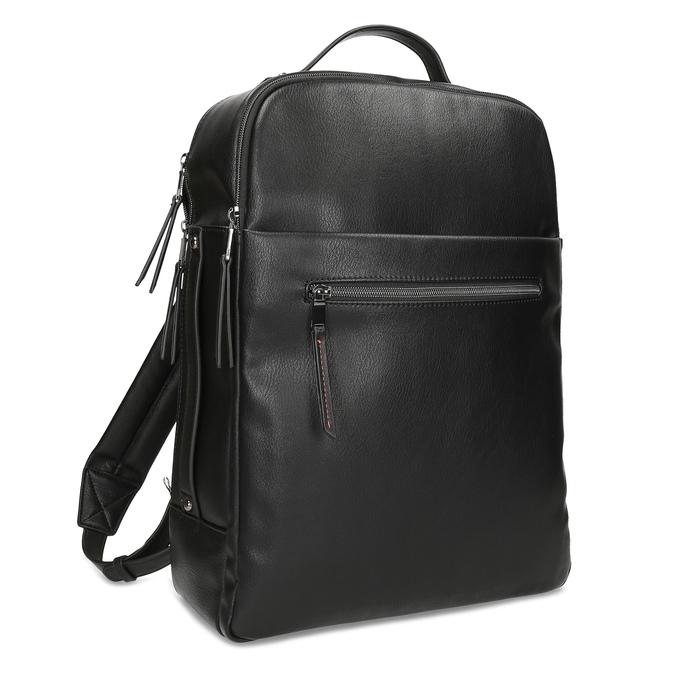 Černý pánský městský batoh bata, černá, 961-6995 - 13