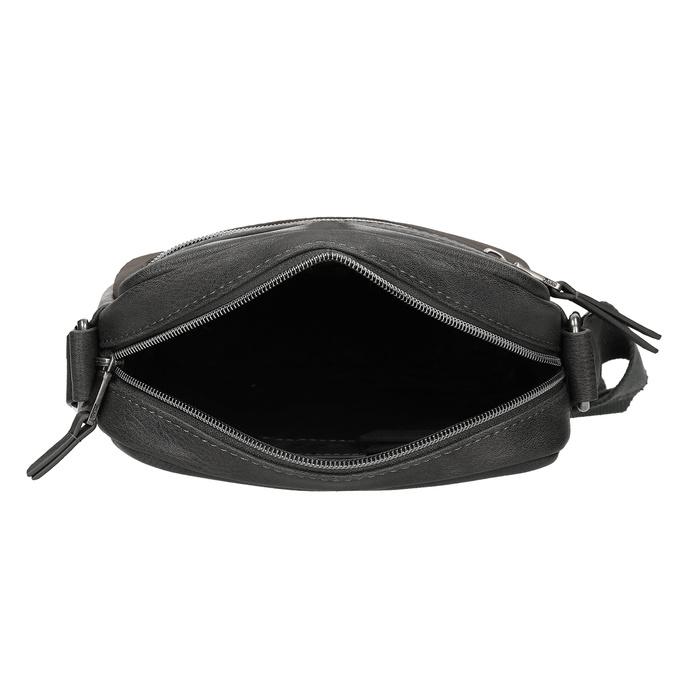 Šedá pánská taška přes rameno bata, šedá, 961-2714 - 15