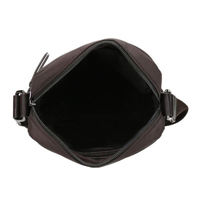 Hnědá pánská Crossbody taška bata, hnědá, 969-4793 - 15