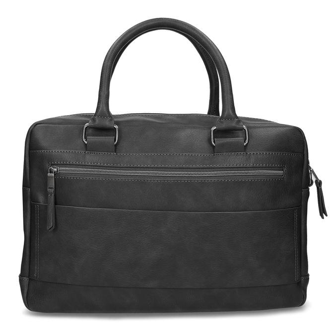 Šedá pánská taška s popruhem bata, šedá, 961-2713 - 26